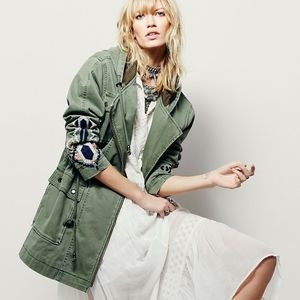 Free People | embroidered parka